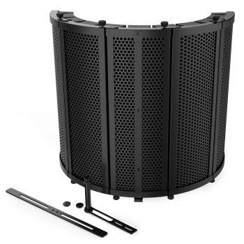 Audibax RF10 Black Pantalla para Micrófono de estudio