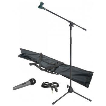Chord MS06 Kit Micrófono + Pie + Pinza + Cable + Funda