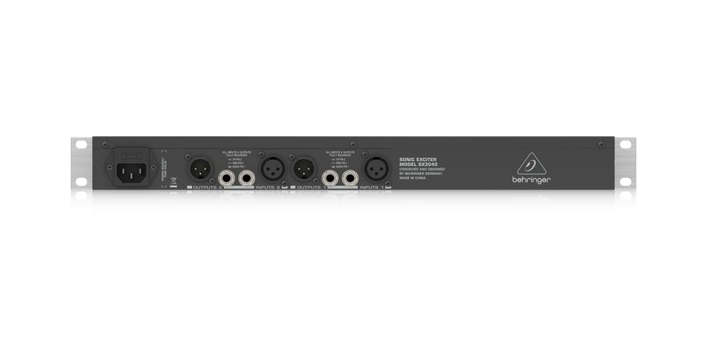 behringer sx3040 conexiones
