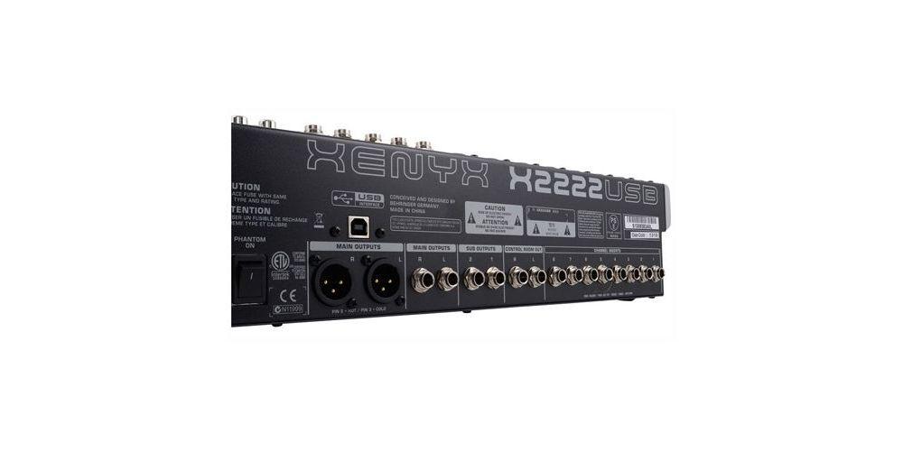 x2222usb behringer xenyx back
