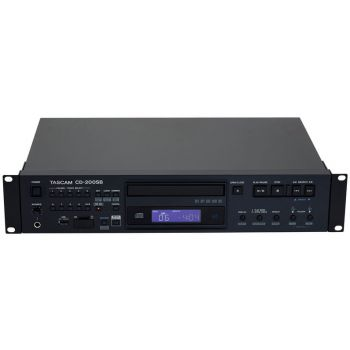 Tascam CD-200SB Lector CD, MP3 , WAV SD Y USB