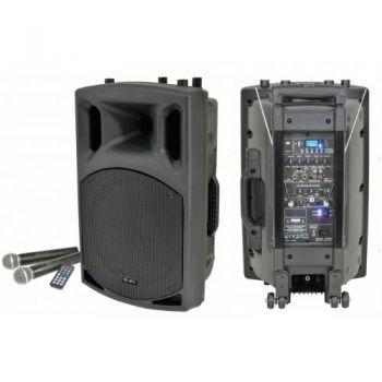 """QTX QX15PA Altavoz Activo Portatil 15"""" Bluetooth"""