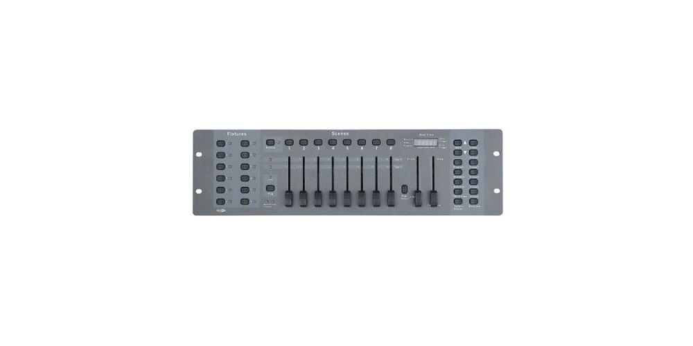 controlador dmx showtec sm8 2