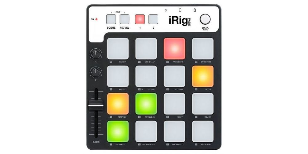 IRIG PADS FRONTAL