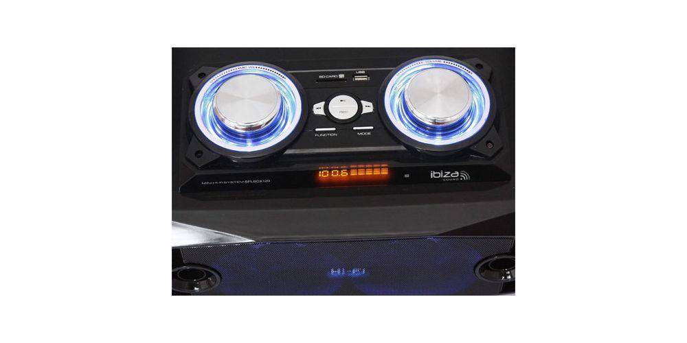 IBIZA SOUND SPLBOX100 Sistema Sonido Portátil
