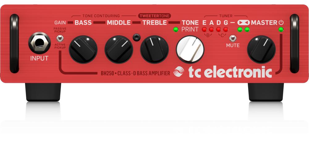 tc electronic bh250 cabezal bajo