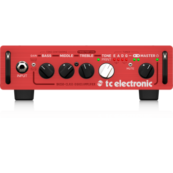 TC Electronic BH250 Cabezal de Bajo ( REACONDICIONADO )