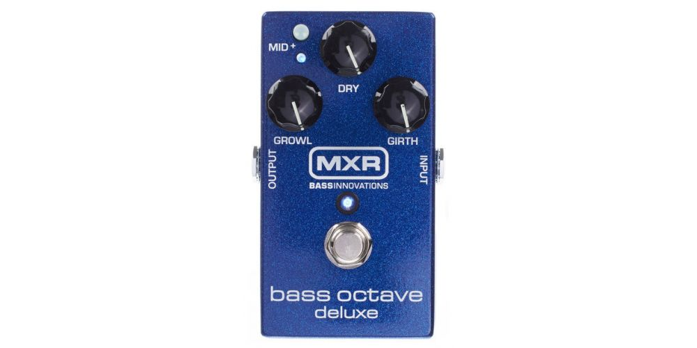 dunlop mxr m288 bass octave deluxe front