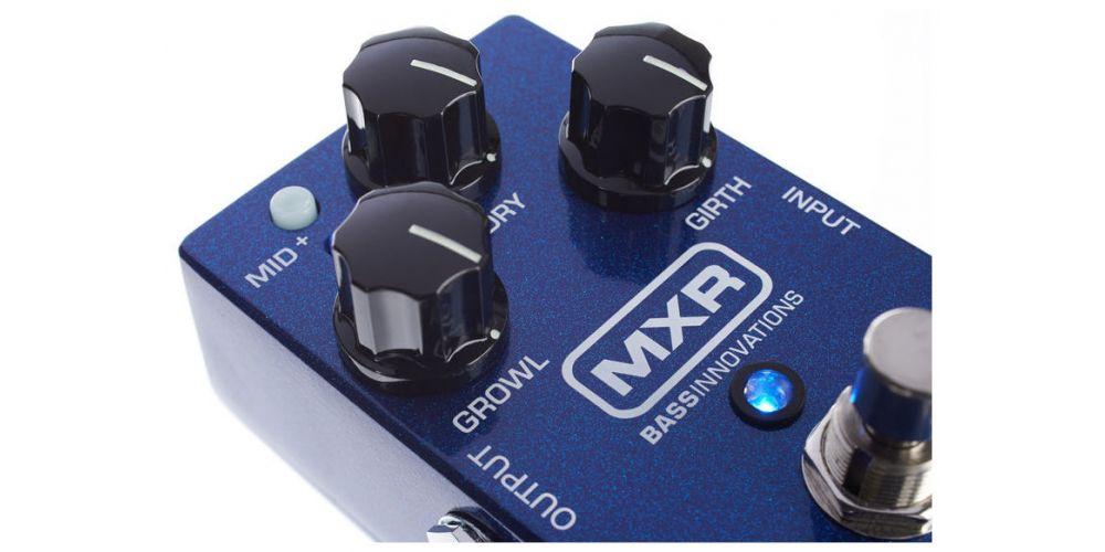 dunlop mxr m288 bass octave deluxe knob