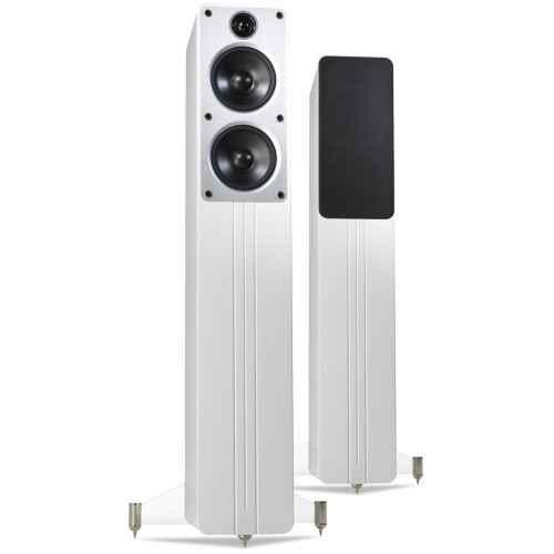 q acoustics c40 white altavoz suelo alta gama