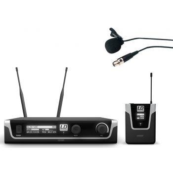 LD SYTEMS U508 BPL Micrófono Inalámbrico de Solapa