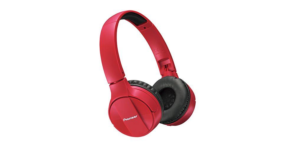 PIONEER SE-MJ553BT-Red Auricular Bluetooth