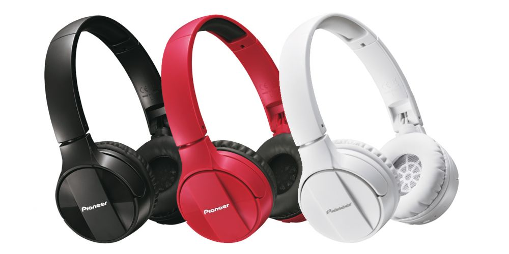 pioneer se mj553bt bluetooth auriculares