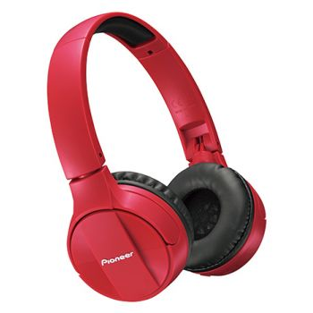 PIONEER SE-MJ553BT-Red Auricular Bluetooth