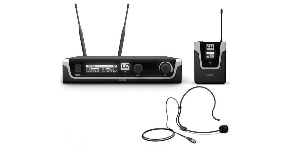 microfono diadema ldsystems U506BPH