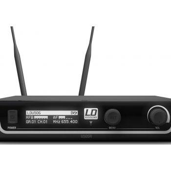 LD SYTEMS U506 BPH Micrófono Inalámbrico de Diadema