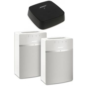 BOSE SOUNDTOUCH 10 TWIN WH + SOUNDTOUCH LINK