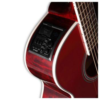Takamine GN75CE-WR Guitarra Electo-Acustica Red Wine Transparente