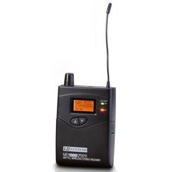 LD Systems MEI 1000 G2 BPR B 6 Receptor para Sistema de Monitoraje In-Ear LDMEI1000G2 Banda 6 655 - 679 MHz
