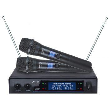 Audibax Missouri 1000 Microfono Inalámbrico Mano VHF Rango A