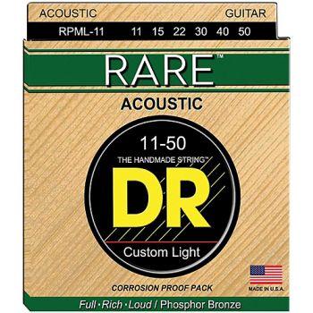 Dr Strings RPML-11 Cuerdas guitarra acustica