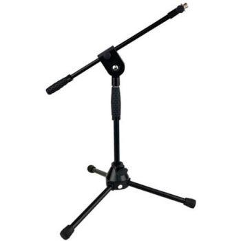 DAP Audio Soporte de microfono bajo con patas de goma ergonomicas
