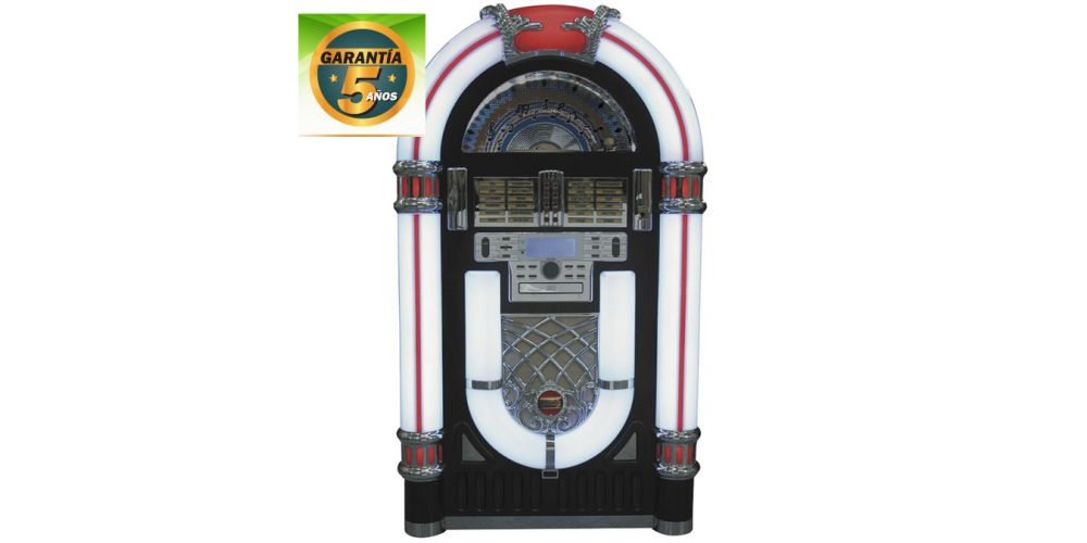 lauson cl130 jukebox con vinilo grabador garantia 5anos