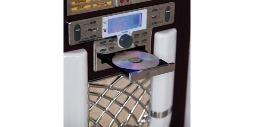 lauson cl130 jukebox con vinilo grabador reproductor cd