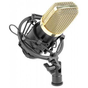 Vonyx CM-400 Microfono de estudio de condensador negro/oro 173404