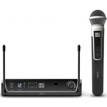 LD Systems U305 HHD Sistema Micrófono inalámbrico de Mano. UHF Diversity