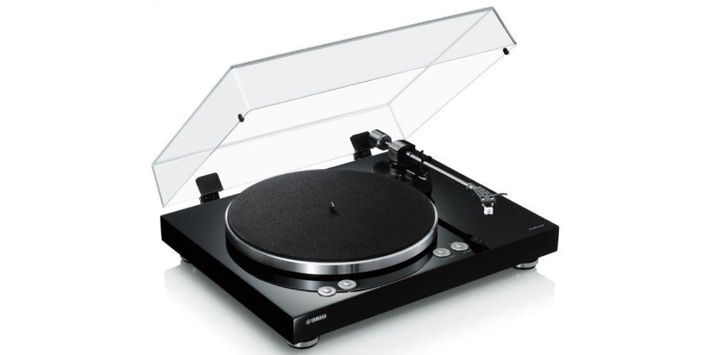 yamaha musiccast vinyl giradiscos wifi bluetooth black