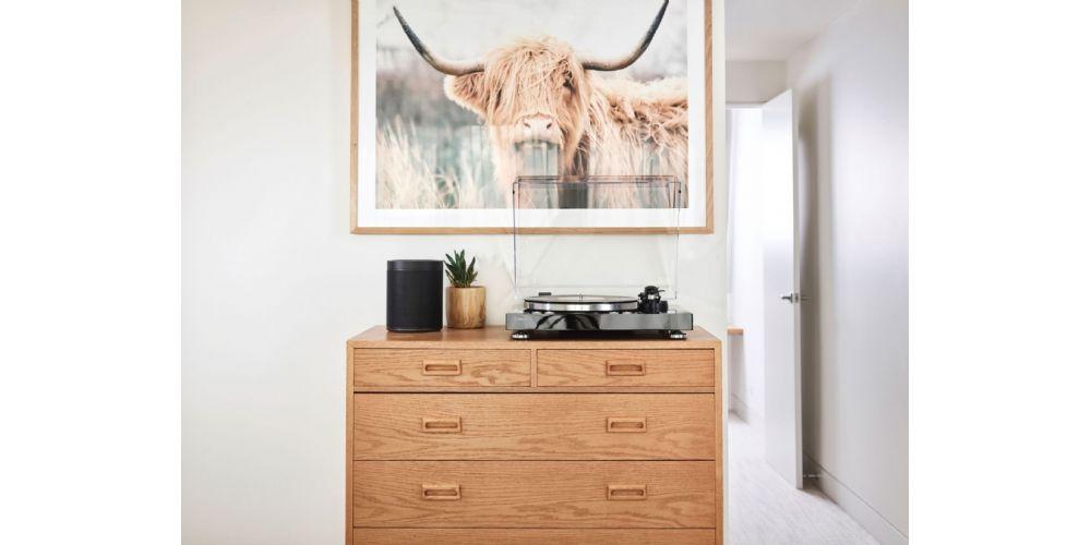 yamaha musiccast vinyl giradiscos wifi bluetooth black en casa