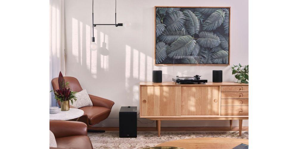 yamaha musiccast vinyl giradiscos wifi bluetooth black negro