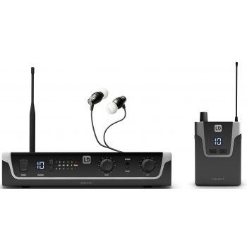 LD SYSTEMS U306 IEM HP Sistema de Monitoraje inalámbrico In-Ear