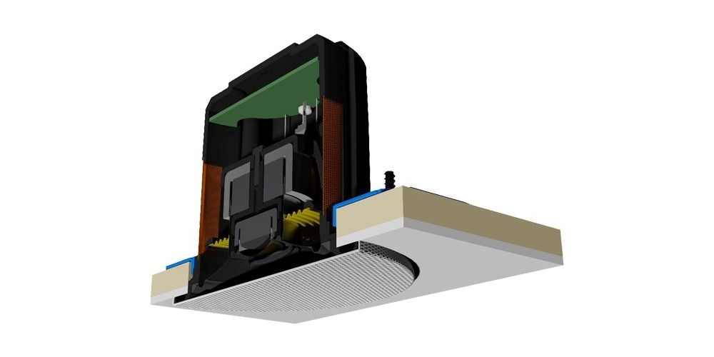 monitor audio CFB3kit kit adaptacion trchosoporte cuadrado rejilla redonda CFB3