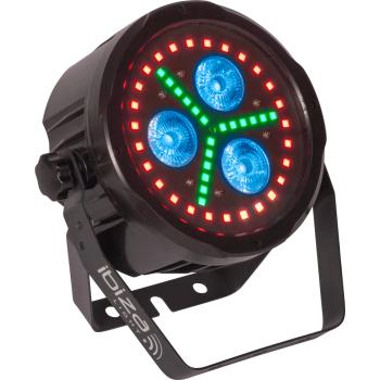 Ibiza Light PAR LED 318-FX1 Par Led de Animacion Con DMX