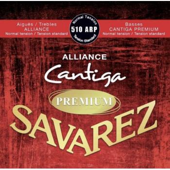 Savarez 510-ARP Alliance Cantiga Premium Roja Clasica Cuerdas para Guitarra