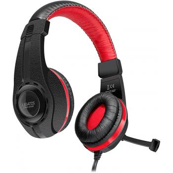 SpeedLink LEGATOS Auriculares PC con Micrófono para Gaming