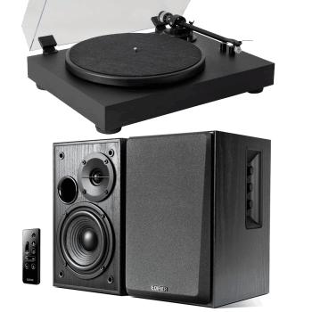 Equipo HiFi Giradiscos Fonestar Fonestar Vinyl 13 + Altavoces Edifier R1580MB