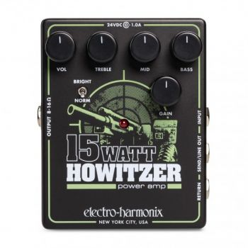 Electro Harmonix 15W Howitzer Pedal Previo Ampificador