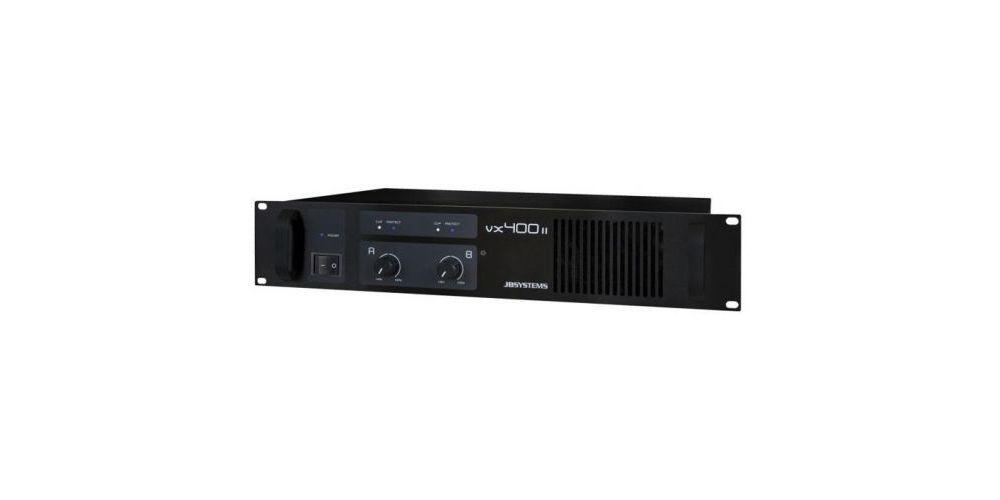 vx 400 ii etapa potencia jb systems 2x200w