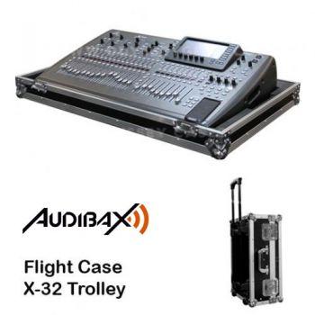 FLIGHT CASE para Behringer X32 con ruedas, Audibax RF:145