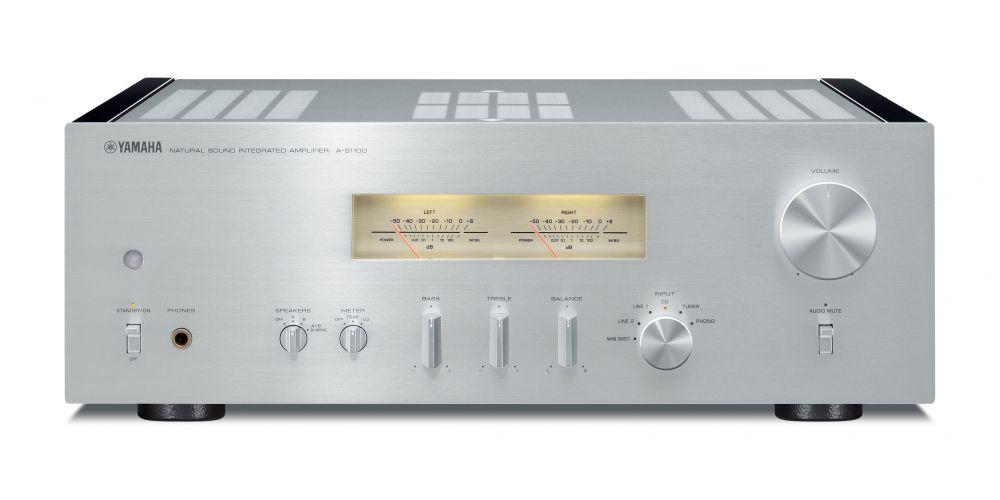 YAMAHA A-S1100 Silver Amplificador  AS1100-S