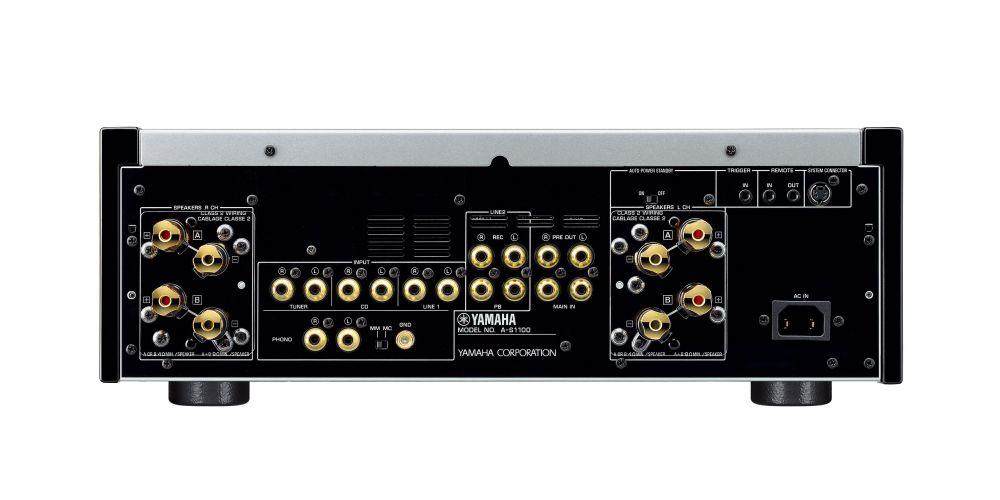 yamaha as1100 silver amplificador alta gama conexiones