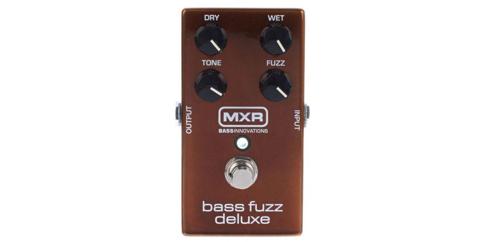 dunlop mxr m84 bass fuzz deluxe front