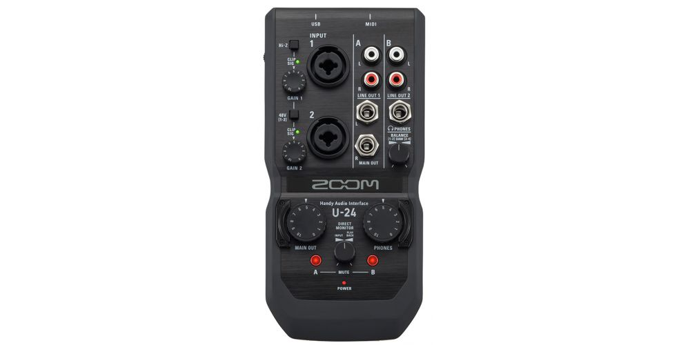 comprar interface zoom u24