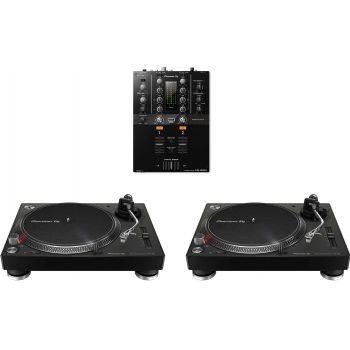 PIONEER Pack 2 PLX 500 Negro + DJM-250