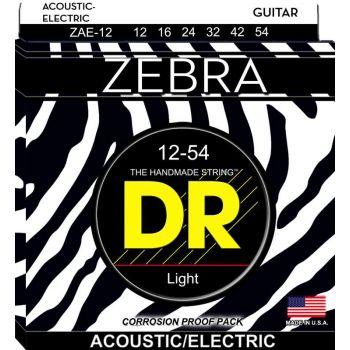 Dr Strings ZAE-11 ZEBRA™ Electro-Acústica 011-054