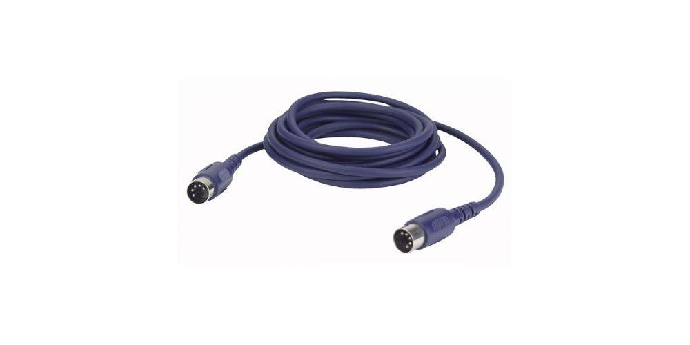 dap audio fl50 cable midi 6 metros