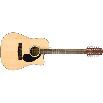 Fender CD-60 SCE-12 Natural Acústica 12 Cuerdas